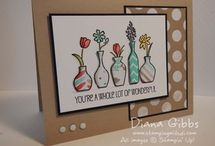 Vivid Vases Stampin Up