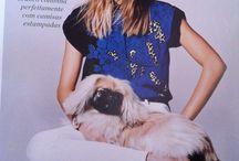 Pets na moda :) / Anúncios, editoriais, propagandas com pets!!