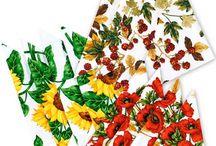 Cloth Napkins / Table Decor, Cloth napkins custom made by Decorative things; home decor