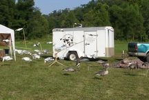 Waterfowl sports shows / Photos from waterfowl shows we have attended, our booths , guides and equipment we use or sell