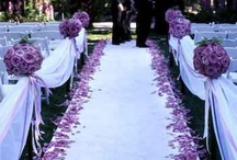 Purple wedding