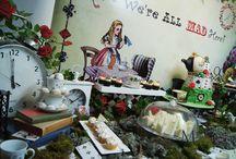 Vintage Alice in Wonderland High Tea Party / Vintage Alice in Wonderland High Tea Party//Madhatter Tea Party//Wonderland Party by Masterpiece Of Cake