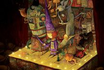 Artists: Shaun Tan / by Victor Galo