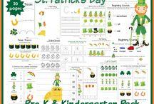St. Patrick's Day Printables / St. Patrick's Day Printables