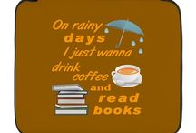 Coffee Tea and Books Designs