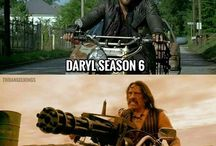 The Walking Dead / Mostly about Daryl Dixon/Norman Reedus.