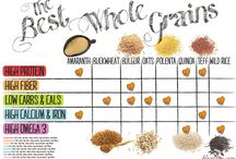 Whole Grains and Rice / Nutrition, health benefits and recipes