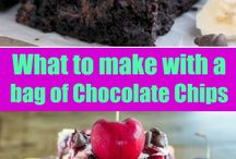 what to make with chocolate chips.