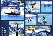 seaworld / scrapbook
