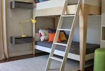 Kids Rooms⎪Shared room / #kids #rooms #shared rooms #bunk bed / by Sandrine Guigou ★  LILIPINSO