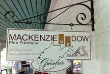 Retail Locations / by MacKenzie-Dow Fine Furniture