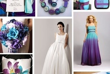 colour palettes / for weddings or home or parties - ideas