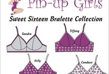 Bra & Lingerie Patterns / Here are a few of my favorites!