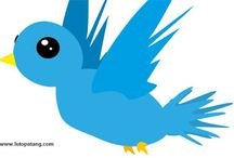 How To Add Animated Flying Twitter Bird To Your Blogger Blog