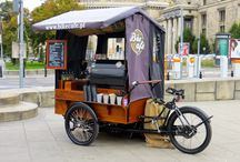 CART AND BIKE FOR STREET FOOD