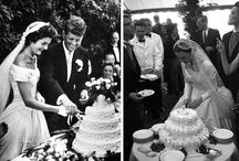 Iconic Wedding Gowns / Brides that have influenced fashion in the past and in to the future.