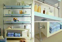 Einrichtung des Badezimmers / Möbel, Accessoirs und Design- und Einrichtungsideen rund ums Badezimmer - Alle vorgestellten Projekte kannst du mit individuellen Maßen nachbauen