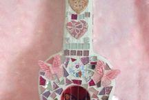 Mosaic Guitar kids room