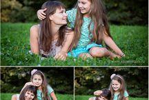 идеи для фотосессии мамы и дочки