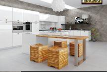 Stiuk Wapienny - inspiracje / Wnętrza w których na ścianach zastosowano Stiuk Wapienny MAGNAT Style