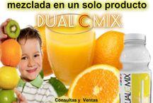 Dual C Mix - Ajuda a produzir colágeno