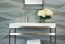 Bedazzling Bathrooms / Bathrooms that inspire