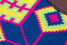 Mochilas Estilo Wayúu / Crochet