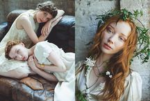 Inspirational for Editorial {winter} / Cool fashion and editorial photos for winter