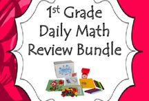First Grade Daily Math Review Bundle {Entire Year} / First Grade Daily Math Review Bundle. This product covers ALL of the Common Core Math Standards for first grade.  This 36 WEEKS of practice pages will build your first graders' mathematical fluency. Each problem is tied to a specific mathematical concept. Daily practice through these activities will help your young mathematicians. In addition, this resource is a GREAT formative assessment tool!