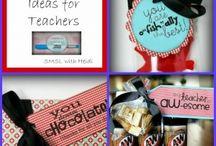 Gift Ideas: Teachers