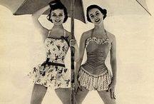 vintage swimming dress