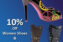 Women's Shoes / Chic with these new arrival ladies shoes styles and trends, women's shoes, boots and much more. ShaziShop is offering latest women shoes at very lowest rates. Check out all the trendy shoes for women and order now. We have listed all the cheap men's & women's shoes specially women's sandals & pumps, find you favorite shoes at discount rate only at ShaziShop.com. Grab up now and fetch this offer.