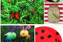 Little explorers: week 7 / I for insect Number 2 Moses / by Ligia Boyd