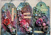 Pretty Little Tags / by Cj Messa