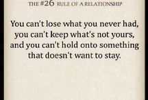 rule#26 in a relationship
