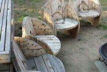 Chairs: outdoor