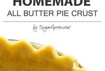 buttered pie crust