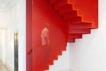 trapper går opp og ned