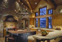 Rustic design home interior