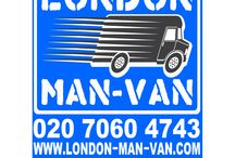 London Man Van / Man and Van London, Removals services from £15 per hour