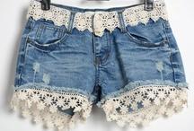 Pantalones Cortos De Vaqueros