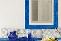 Déco bord de mer / Seaside style : #home decor, #interiors, #arts, architecture and more / Style bord de mer : #décoration #art #architecture et autres #seaside #mer #marin #decoration #maison #home #casa