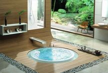hot tubs or really cool bathtubs / by Shareen Webb