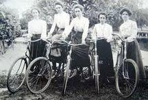 Historical Women Cycling Photos / Pictures of women riding bikes taken decades ago or even earlier.