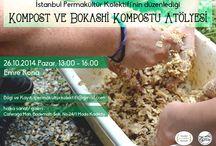 İstanbul Permakültür Kolektifi Poster / İstanbul Permakültür Kolektifinin düzenlediği etkinlikler