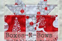 Christmas Blocks / by CB Crafty Corner