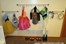 Organization - Kid space/Playroom