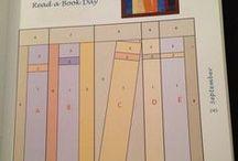 książki w szafach