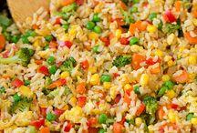 Gebakken rijst recepten