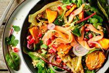 Salades / Recettes de salades variées.